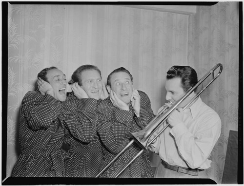 [Portrait of Buddy Morrow and Ritz Broth by The Library of Congress, on Flickr