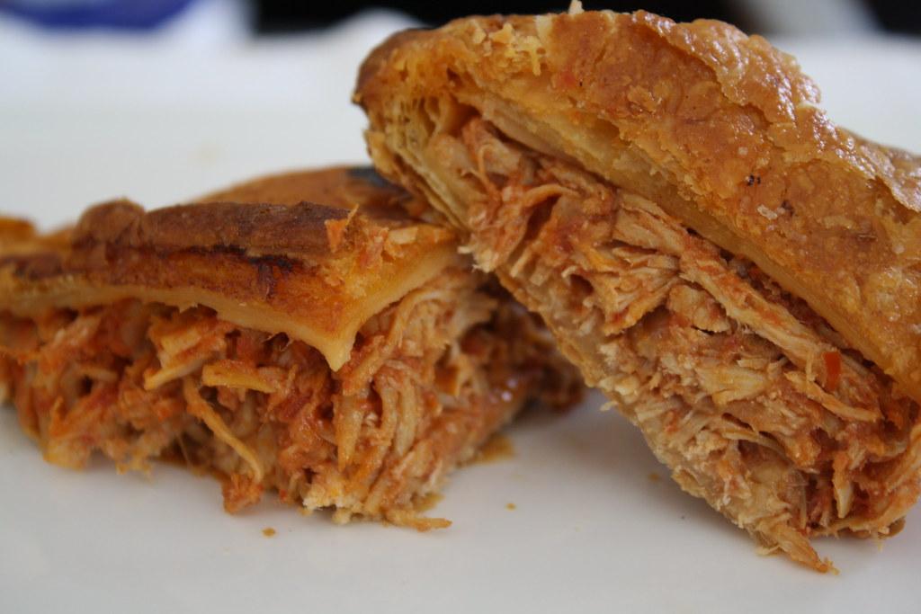 Spanish Chicken Empanada