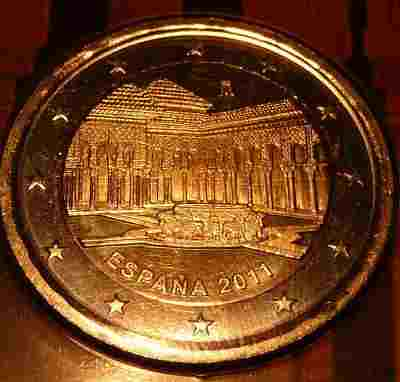 Spain 2 Euros 2011