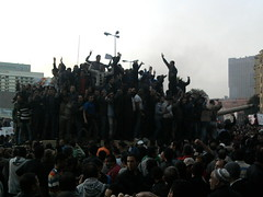 peaceful demonstrations @ Tahrir square Cairo ...