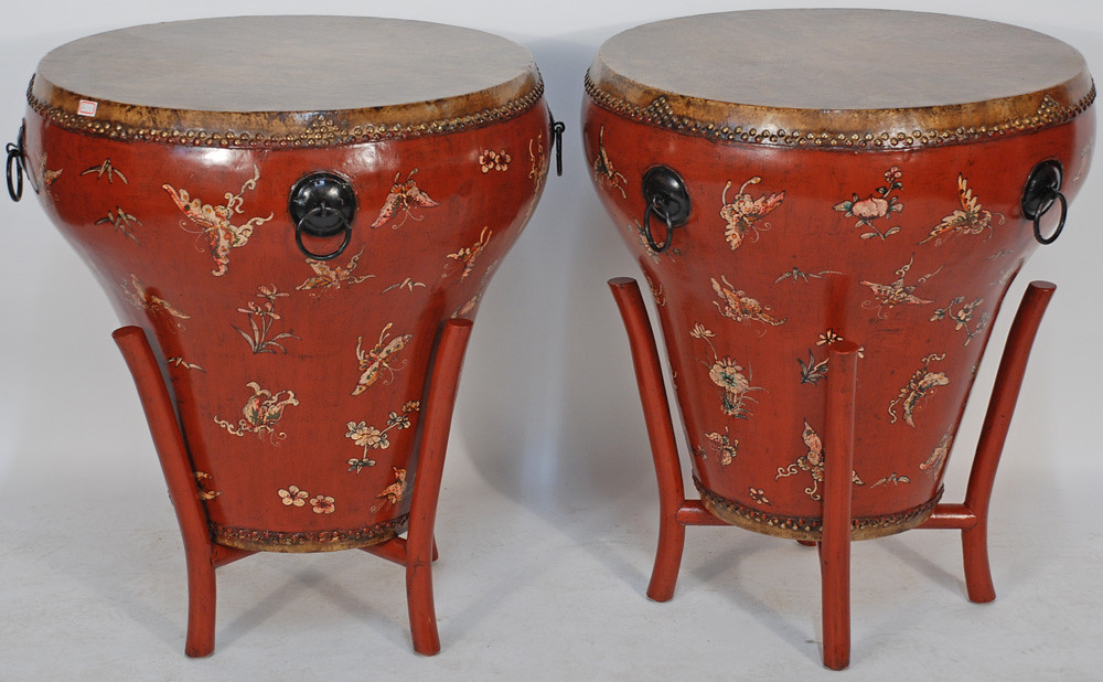 BK0066Y-Antique-Chinese-Drum-Table