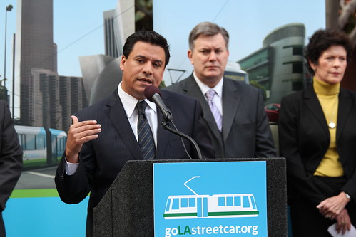 Councilmember Jose Huizar-Bringing Back Broadway-Streetcar