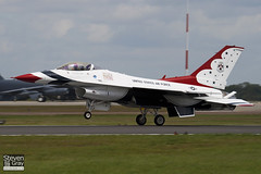 86-0281 - 5C-287 - USAF Thunderbirds - General Dynamics F-16C Fighting Falcon - Fairford - 070714 - Steven Gray - IMG_6332