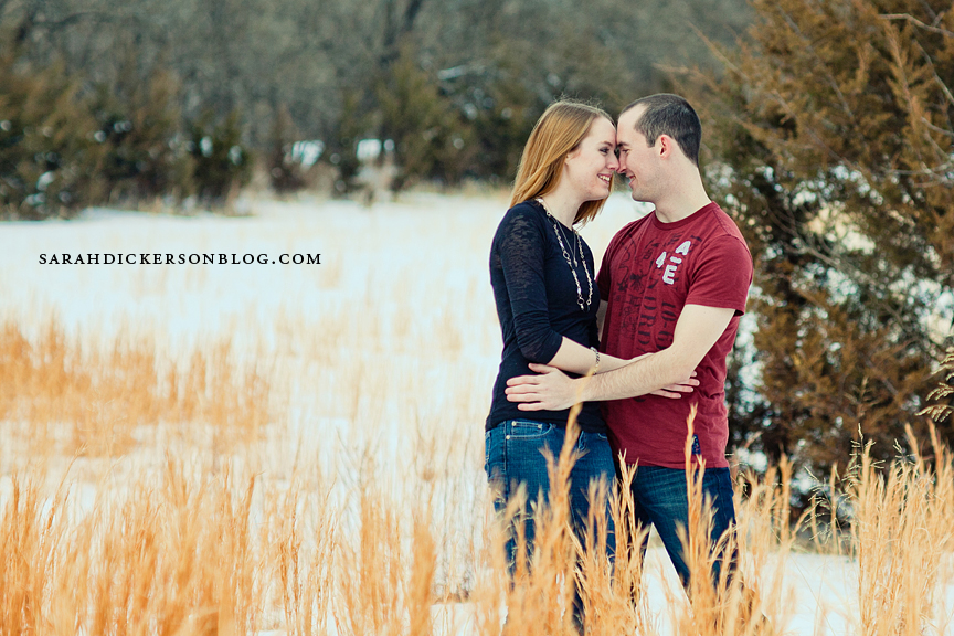Shawnee Mission Park Kansas engagement session