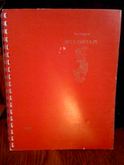 Songs of Beta Theta Pi by Molter, Shelby L. (ed. ), Molter, Shelby L. (ed. )