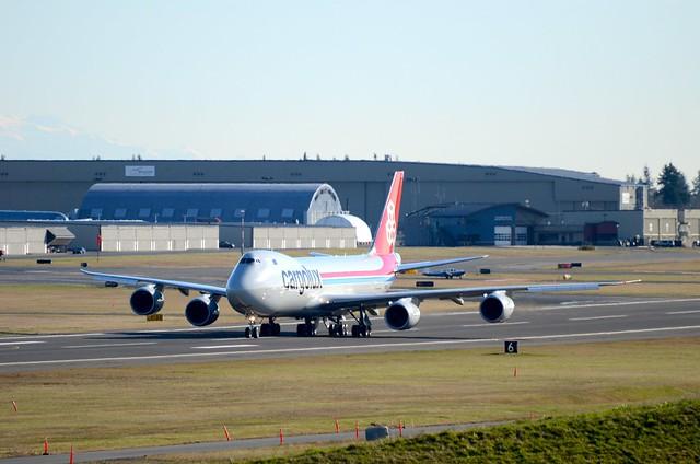 Cargolux Boeing 747-8F N5573S RC503