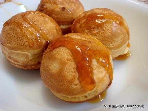 20110212 DIY 章魚燒雞蛋糕_02 蜂蜜