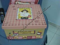 by Atelier Lucimara Santana (Atelier Lucimara Santana) Tags: caixa decoupage caixas pinturaemmadeira farmacinha caixaderemdios caixaria pinturaemcaixas