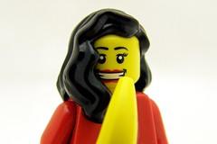 Nigella Lawson Eats A Banana