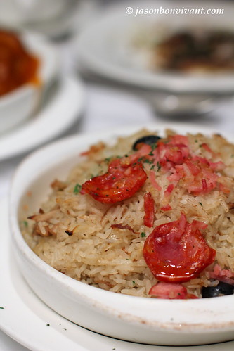 Traditional Portuguese Duck Rice