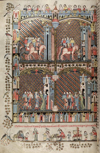 009-folio 164 verso-The Romance of Alexander - MS. Bodl. 264 © Bodleian Library-University of Oxford 1999