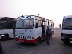 Shuttle Bus (Claris84) Tags: nepal airport air kathmandu agni