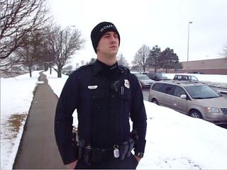 Anti-Torture Vigil - Week 35: Officer R. Woods
