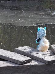 Study Spot (Prawnlegs) Tags: park toys outdoors dolls mattel lagoona lagoonablue monsterhigh
