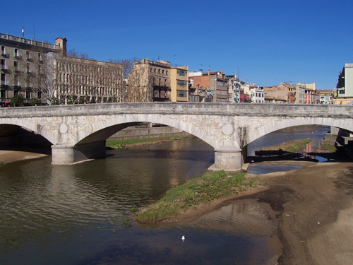 Visitar los Puentes de Girona con niños
