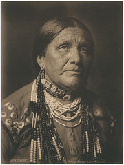 Otoe. Indian Woman. (SMU Central University Libraries) Tags: portrait america women culture indians nativeamericans americanindians oldwest uswest otoe solomn
