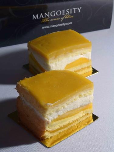 Mango Gelée Cake - $3.80