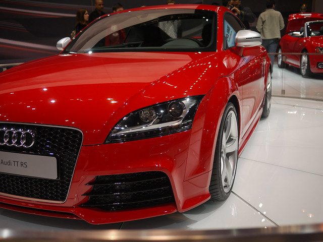 red chicago illinois unitedstates chicagoautoshow 2011 audittrs