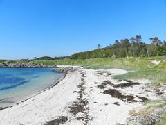 Camus Darach Beach, Morar, Lochaber, May 2017 (allanmaciver) Tags: camus darach morar lochaber sand sea shore white curve colours clear highlands scotland allanmaciver