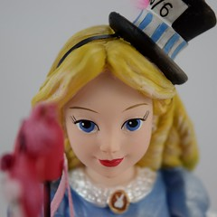 Couture de Force Masquerade Alice in Wonderland 7 Inch Figurine by Enesco - Unmasked - Closeup Front View (drj1828) Tags: disneyland purchases disney figurine couturedeforce masquerade aliceinwonderland 7inch resin