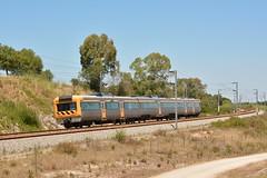 R 4419 - Virtudes (valeriodossantos) Tags: comboio cp train passageiros ute2240 unidadetriplaelétrica automotoraelétrica regional tomarense cpregional virtudes azambuja linhadonorte caminhosdeferro portugal