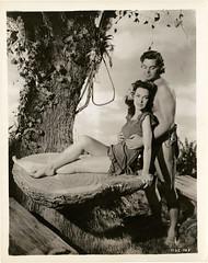 7000-2070 (AliceJapan ʕ •ᴥ•ʔ) Tags: johnny maureen mgm 1941 osullivan weissmuller johnnyweissmuller maureenosullivan tarzanssecrettreasure