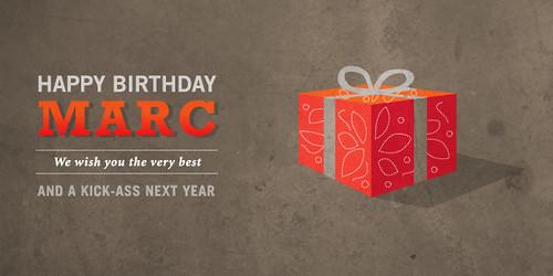 Marc Geburtstag