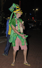 That's Not Right (Chris Bloom) Tags: park brazil people portugal southafrica fan football candid fans persons beachfront durban kwazulunatal fanfest