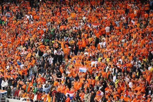 The orange legion