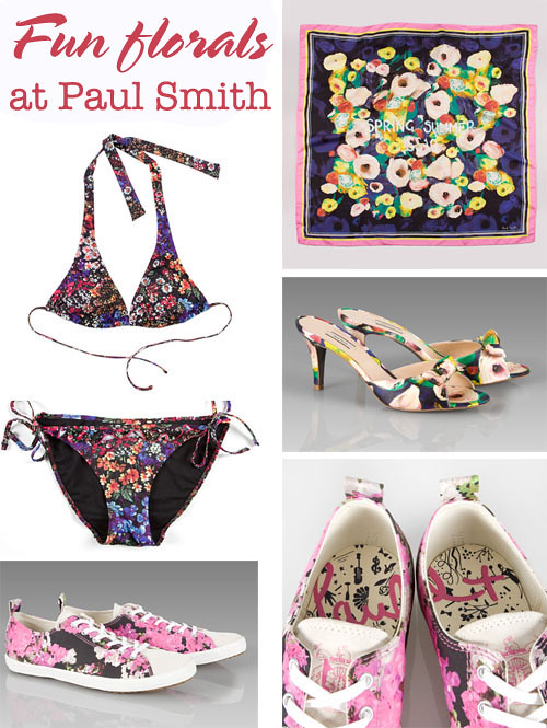Paul Smith florals