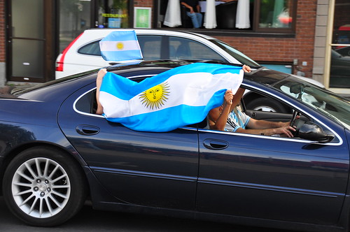 Supporters argentins - Argentina fans