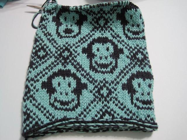 Knitting is Monkey Business!