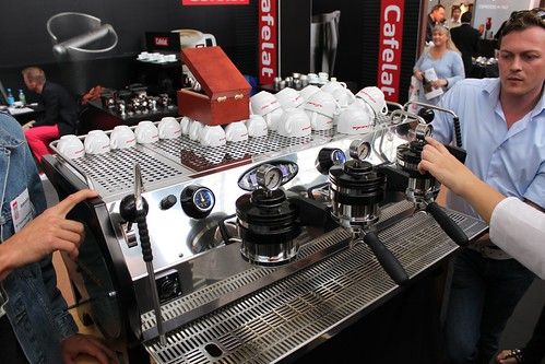 The brand new La Marzocco Strada MP