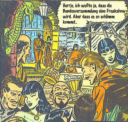 Freakshow Bundesversammlung
