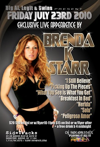 Brenda K. Starr Exclusive Live Appearance poster