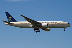 HZ-AKG - 28350 - Saudi Arabian Airlines - Boeing 777-268ER - 100617 - Heathrow - Steven Gray - IMG_5484