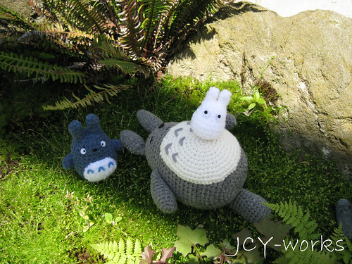 And the family of Totoro!!