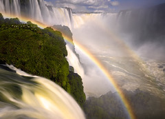 Iguazu! by Michael Anderson (AndersonImages) Tags: brazil argentina waterfall rainbow rainforest falls cataratas iguazu iguacu