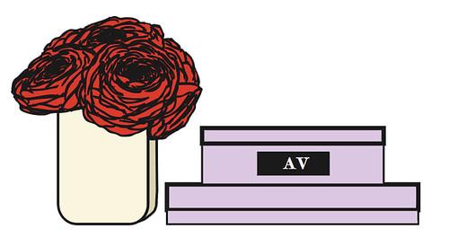 flowers+box