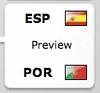 Spain=西班牙 vs. Portugal=葡萄牙