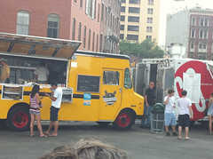 World's First Food Truck Drive-In Movie - NYC Food Film Festival