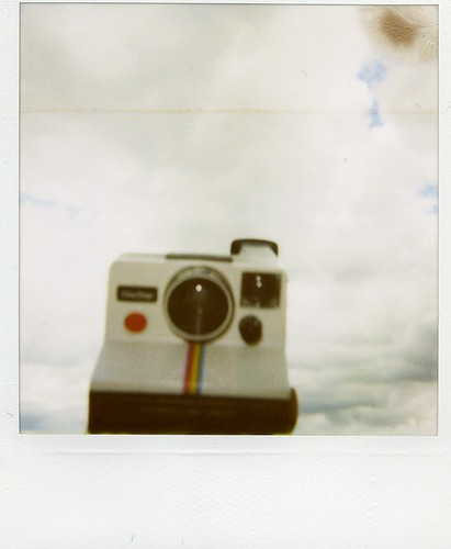 flying polaroid - untouched