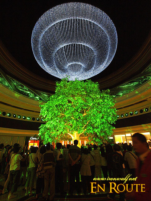 Macau Wynn Tree of Prosperity