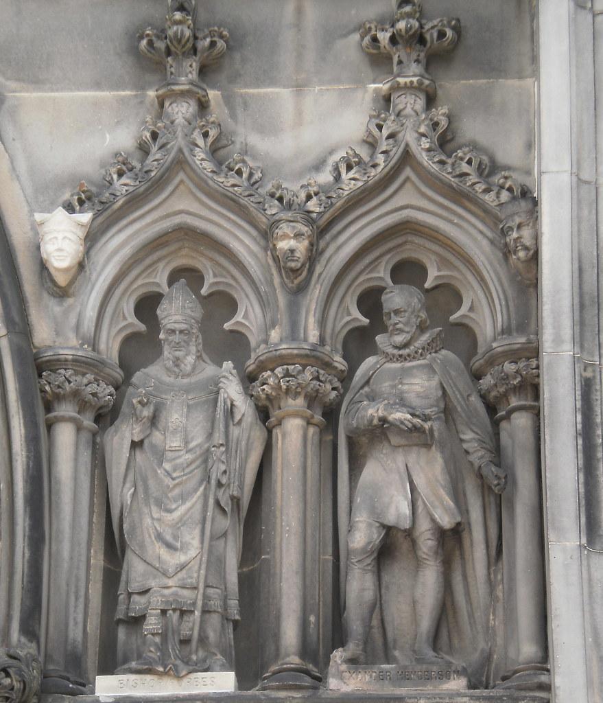 St Giles, Edinburgh, Scotland - West Door detail