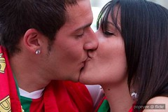 Portugal (Popeyee) Tags: world pictures africa cup portugal sports fan photo football spain foto photographer emotion image photos fifa soccer south watching picture images wm celebration wc v vs fans futebol celebrating versus 2010 sudafrica