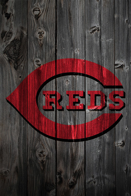 cincinnati reds wallpaper and accessories. Cincinnati Reds Wood iPhone 4 Background