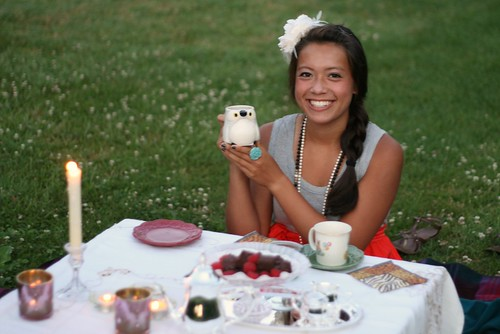 sunrise tea party puffin mug!