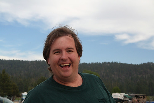 Big Bear Lake - Mike at Holloway's Marina