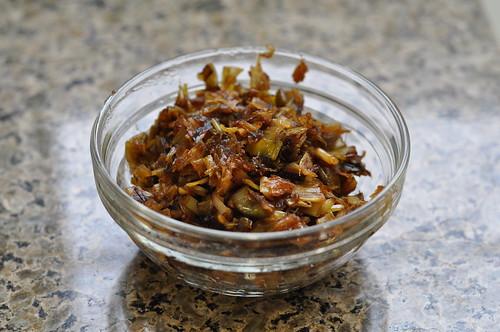 caramelized leeks