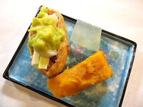 食養山房酪梨壽司、南瓜與石花凍仔細看